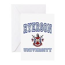 RYERSON University Greeting Cards (Pk of 10)