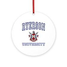 RYERSON University Ornament (Round)