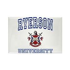 RYERSON University Rectangle Magnet