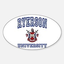 RYERSON University Oval Decal