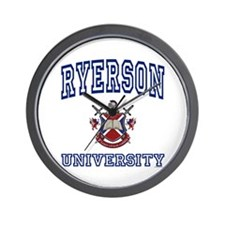 RYERSON University Wall Clock
