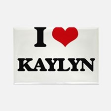 I Love Kaylyn Magnets