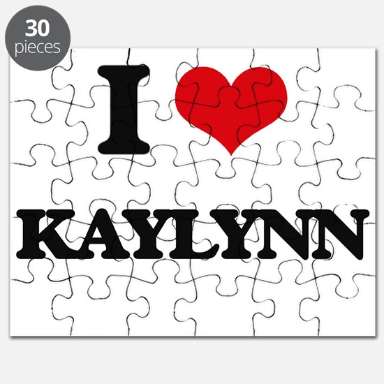 I Love Kaylynn Puzzle