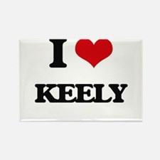 I Love Keely Magnets