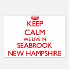 Keep calm we live in Seab Postcards (Package of 8)