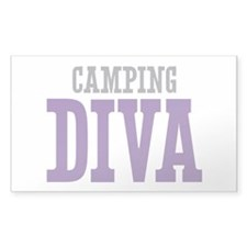 Camping DIVA Decal