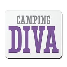 Camping DIVA Mousepad