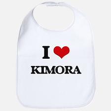 I Love Kimora Bib