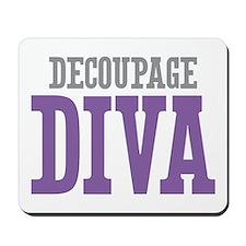 Decoupage DIVA Mousepad