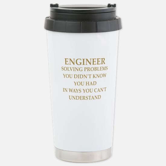 ENGINEER6 Stainless Steel Travel Mug