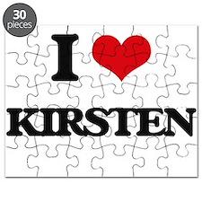 I Love Kirsten Puzzle