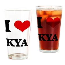 Cute Kya Drinking Glass