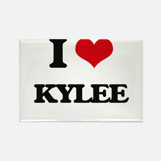 I Love Kylee Magnets