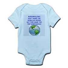 marshmallow Infant Bodysuit