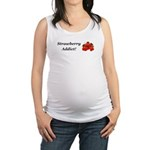Strawberry Addict Maternity Tank Top