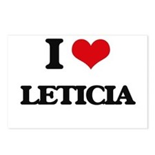 I Love Leticia Postcards (Package of 8)