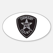 Ormsby County Sheriff Decal