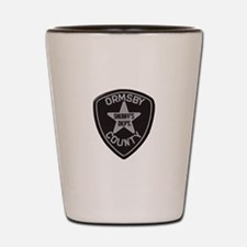 Ormsby County Sheriff Shot Glass