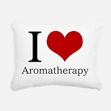 I Heart Aromatherapy Rectangular Canvas Pillow