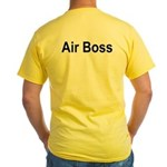 "USS JFK (CV 67) ""Air Boss"" Yellow T-Shirt."