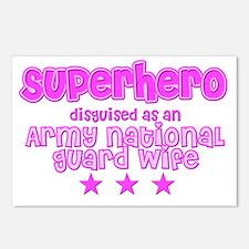 Superhero - ARNG Postcards (Package of 8)