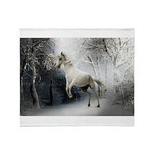 Fantasy Horse Throw Blanket