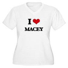 I Love Macey Plus Size T-Shirt
