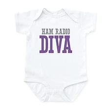 Ham Radio DIVA Infant Bodysuit