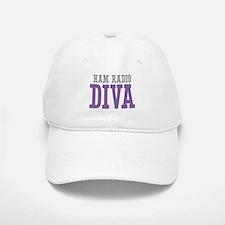 Ham Radio DIVA Baseball Baseball Cap