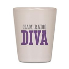 Ham Radio DIVA Shot Glass