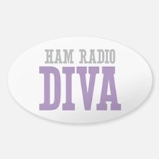 Ham Radio DIVA Decal
