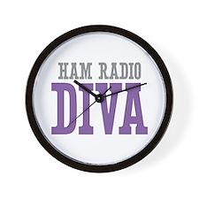 Ham Radio DIVA Wall Clock