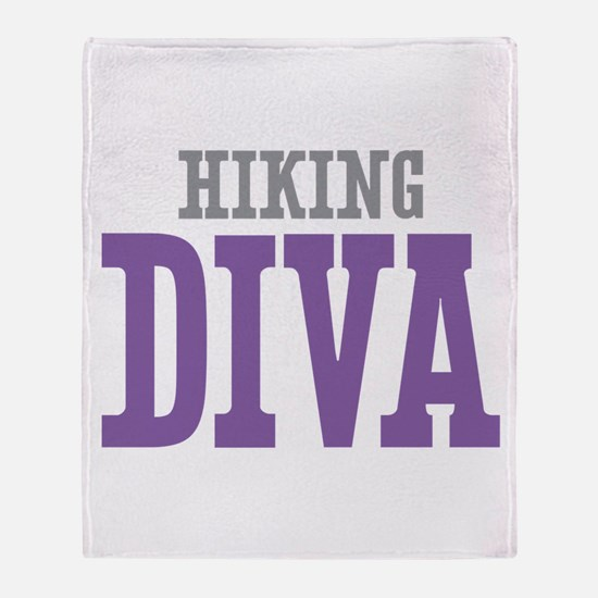 Hiking DIVA Throw Blanket