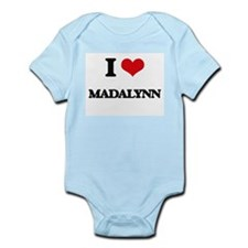 I Love Madalynn Body Suit
