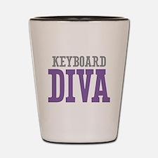 Keyboard DIVA Shot Glass