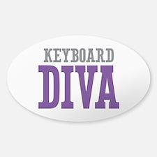 Keyboard DIVA Sticker (Oval)