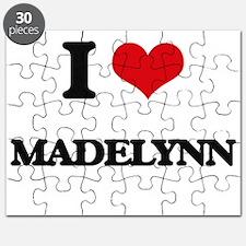 I Love Madelynn Puzzle