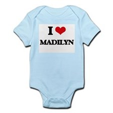 I Love Madilyn Body Suit