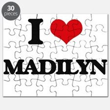 I Love Madilyn Puzzle