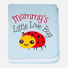 Mommy's Little Love Bug baby blanket