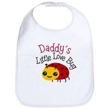 Daddy's Little Love Bug Bib