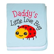 Daddy's Little Love Bug baby blanket