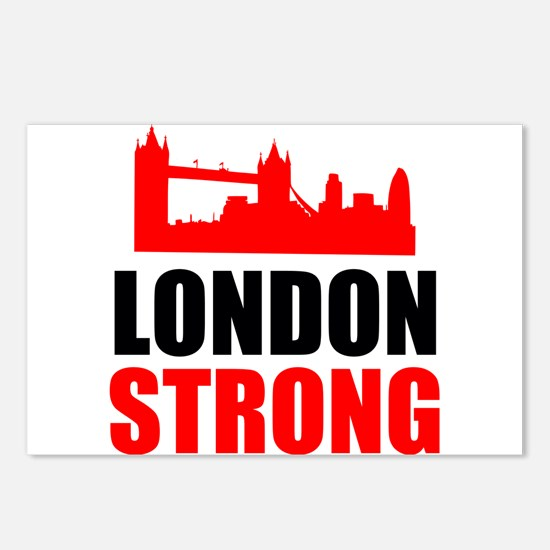 London Strong Postcards (Package of 8)