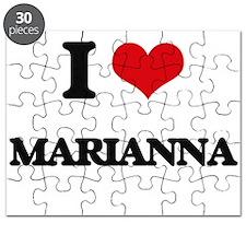 I Love Marianna Puzzle