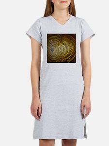 black hole Women's Nightshirt