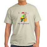 Love My Boyfriend Light T-Shirt
