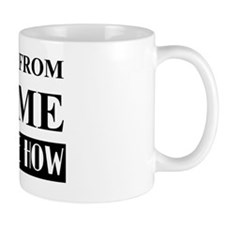 Work from home bw Mug