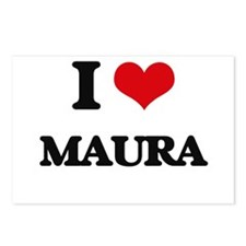 I Love Maura Postcards (Package of 8)