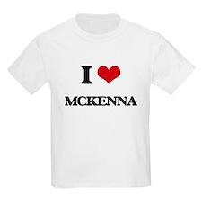 I Love Mckenna T-Shirt