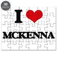 I Love Mckenna Puzzle